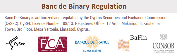 banc de binary broke régulé
